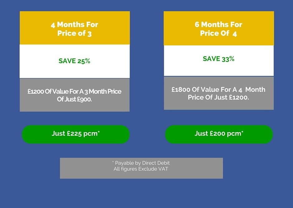 Facebook Ads| Multi months prices
